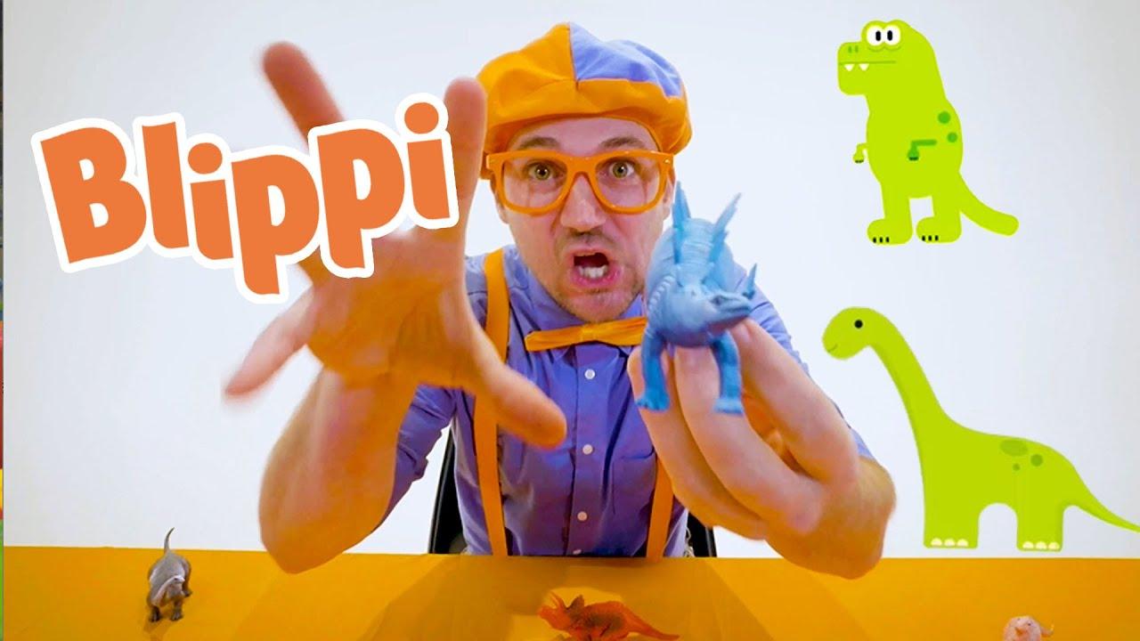 Learning Dinosaur Names With Blippi | Dinosaur Videos For Kids | Educational Videos For Children