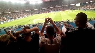 PSG vs CAEN début du match à Auteuil