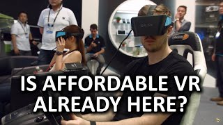 New, Affordable VR Headset! - GALAX VISION Developer Edition