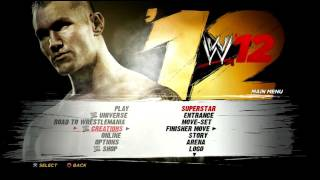 WWE '12 Review PS3