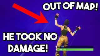FLYING OUT OF THE MAP GLITCH! FACILE DE GAGNER!? (FORTNITE BATTLE ROYALE)