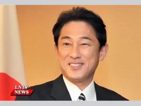 Lao NEWS on LNTV: Japanese MoFA Fumio Kishida to visit Laos on May 4-5.3/5/2016