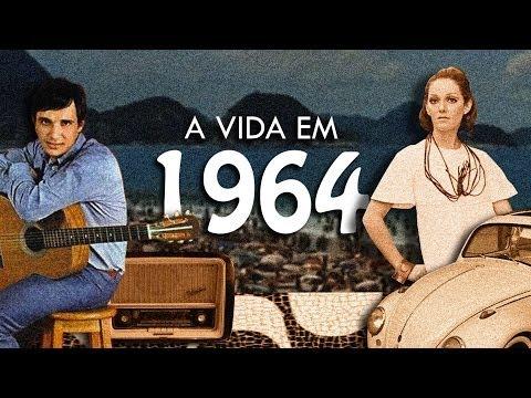 A vida e a cultura no Brasil em 1964