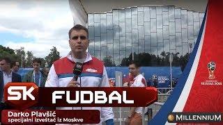 Darko Plavšić iz Moskve Nakon Meča Rusija - Saudijska Arabija   SPORT KLUB Fudbal
