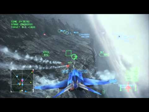"[Pt.8] Ace Combat Infinity Campaign - Mission 8: ""Operation Bunker Shot"""