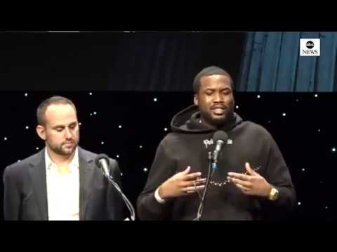 (FULL VIDEO) Meek Mill and JAY Z Meet For Criminal Justice and Reform Organization Mp3
