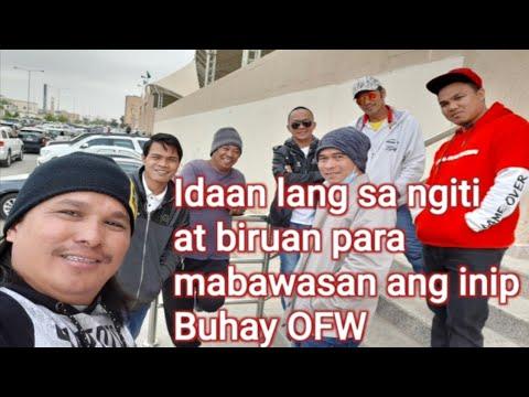 Buhay Ofw 31; Idaan Lang Sa Ngiti At Biruan Para Mabawasan Manlang Ang Inip Sa Pamilya