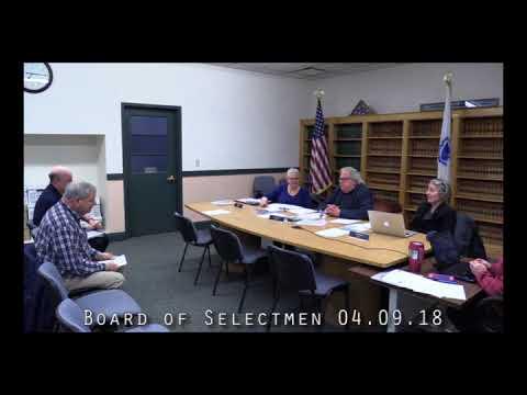 Board of Selectmen 04.09.18
