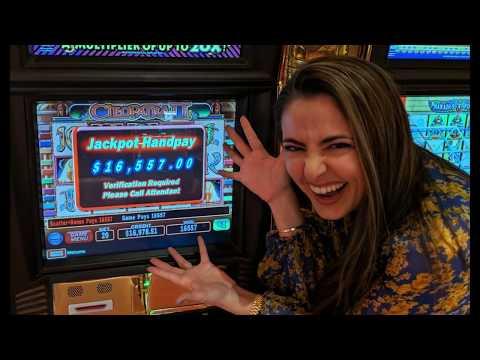 MASSIVE $16,000+ HANDPAY JACKPOT On Cleopatra 2 In Vegas!