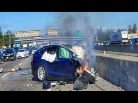 Another THEORY | TESLA Model X AutoPilot FATAL CRASH