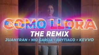 Juanfran x Nio García x Brytiago x Kevvo - Como Llora The Remix (Video Oficial)
