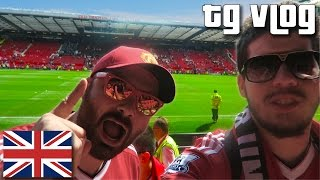 manchester united game first cheeky nandos typical gamer vlog