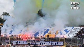 FC Carl Zeiss Jena 2:1 FC Rot-Weiß Erfurt 08.10.2017 | Choreos, Pyro & Support