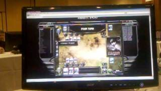 Hearts of Iron Card Game Setup and Battle Footage