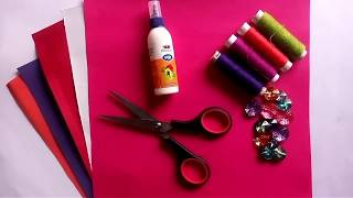 How to make Hanging paper flowers | Christmas decorations | paper flower | Home decoration ideas