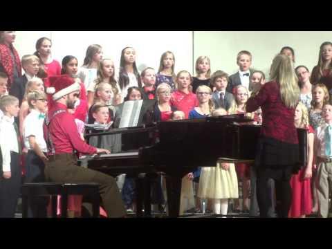 "Northridge Elementary Chorus - ""Mistletoe"" (Phyllis Wolfe)"