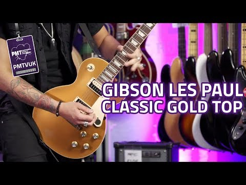 Gibson Les Paul Classic Gold Top Review - 2019 Les Paul That Doesn't Suck