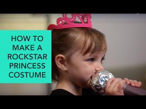 How to Make a Rockstar Princess Costume - Easy DIY Halloween | Care.com