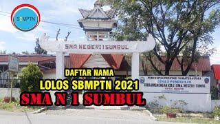 Download SMA N 1 SUMBUL - DAFTAR SISWA LULUS SBMPTN 2021