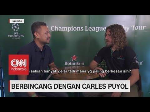 Bincang Santai Dengan Carles Puyol