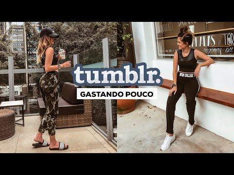 LOOKS TUMBLR GASTANDO POUCO!
