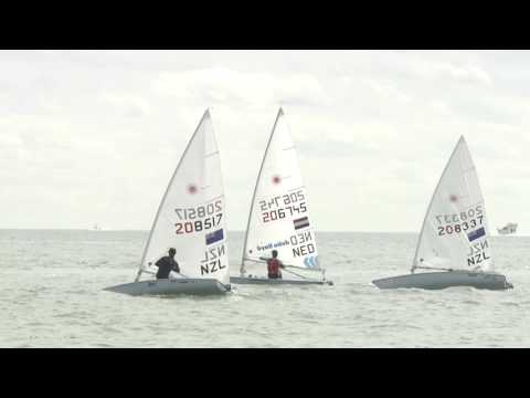 2016 Sailing World Cup Miami  Laser Medal Race