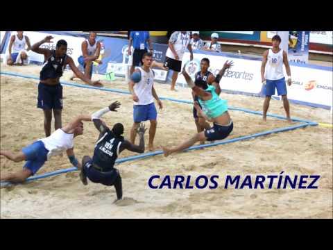 CARLOS MARTÍNEZ - SELECCIÓN VENEZUELA BALONMANO PLAYA