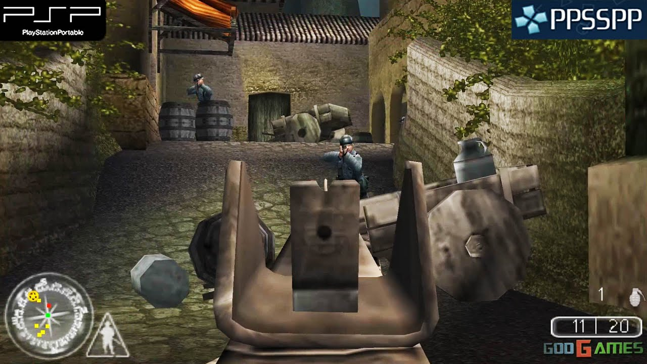 Call Of Duty Roads To Victory Psp Gameplay 1080p Ppsspp Youtube