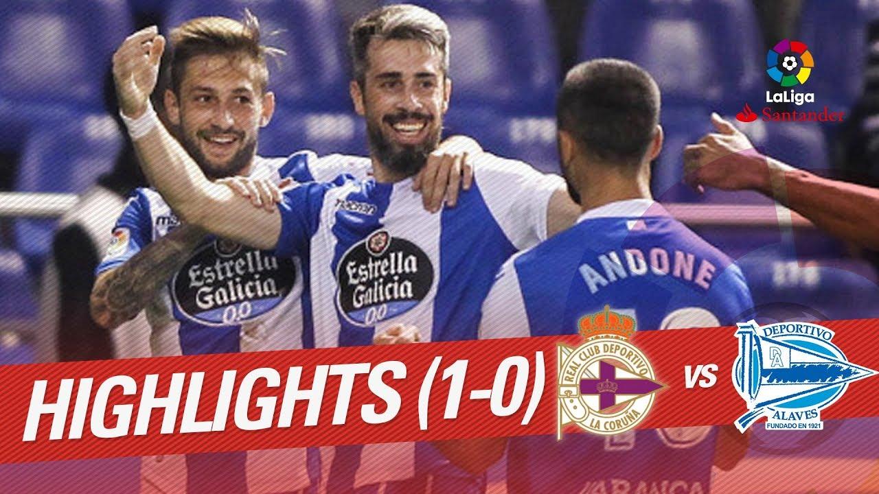 Deportivo La Coruna 1-0 Alaves