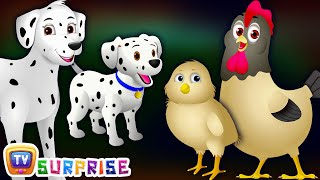 Surprise Eggs Baby Farm Animals Toys | Learn Baby Animals & Animal Sounds | ChuChu TV Kids Surprise