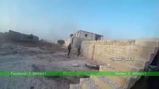 Syria. trophy videos of the killed fighters.