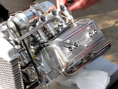 Miniature Ardun Ford Flathead YouTube