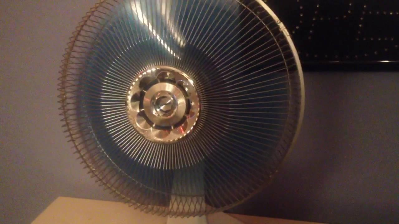 Gumtree Desk Fan : Vintage panasonic quot way oscillation desk fan