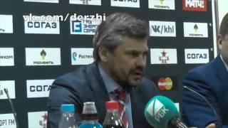 CSKA SKA 1 game  Post game  Zubov Kvartalnov