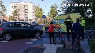 Fietser gewond na ongeval in Hoogeveen