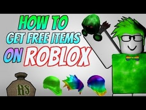 how to get free catalog items on roblox