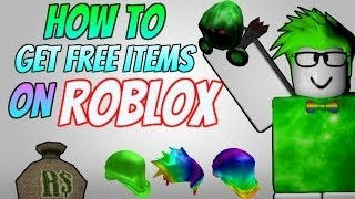 How To Get Free Catalog Items On Roblox On (Pc,IOS, Android)(October 2016)