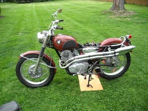 1966 honda cl77 motorcycle 305 scrambler running youtube Honda 6.5 Motorcycle 1966 honda cl77 motorcycle 305 scrambler running