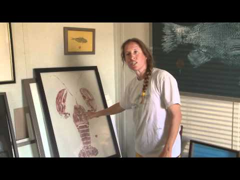 Gyotaku - Anne Sessler - East End Fish Prints