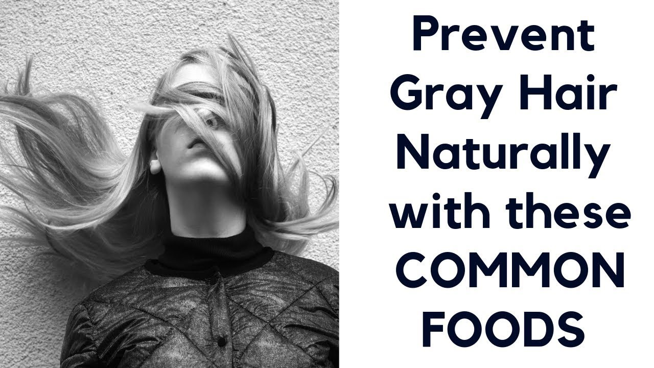 ►Prevent Gray Hair 🌲 Naturally with these INGREDIENTS   Home Remedy for  Gray Hair