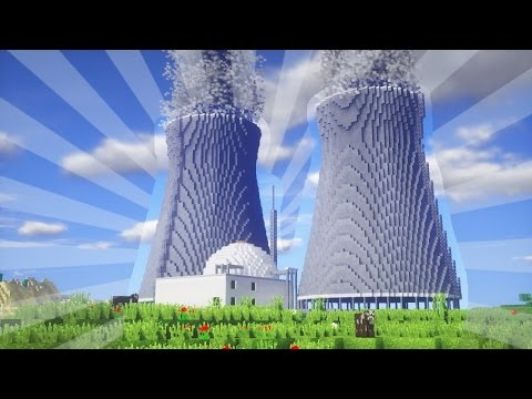 How To Build a POWER PLANT in Minecraft (CREATIVE BUILDING)