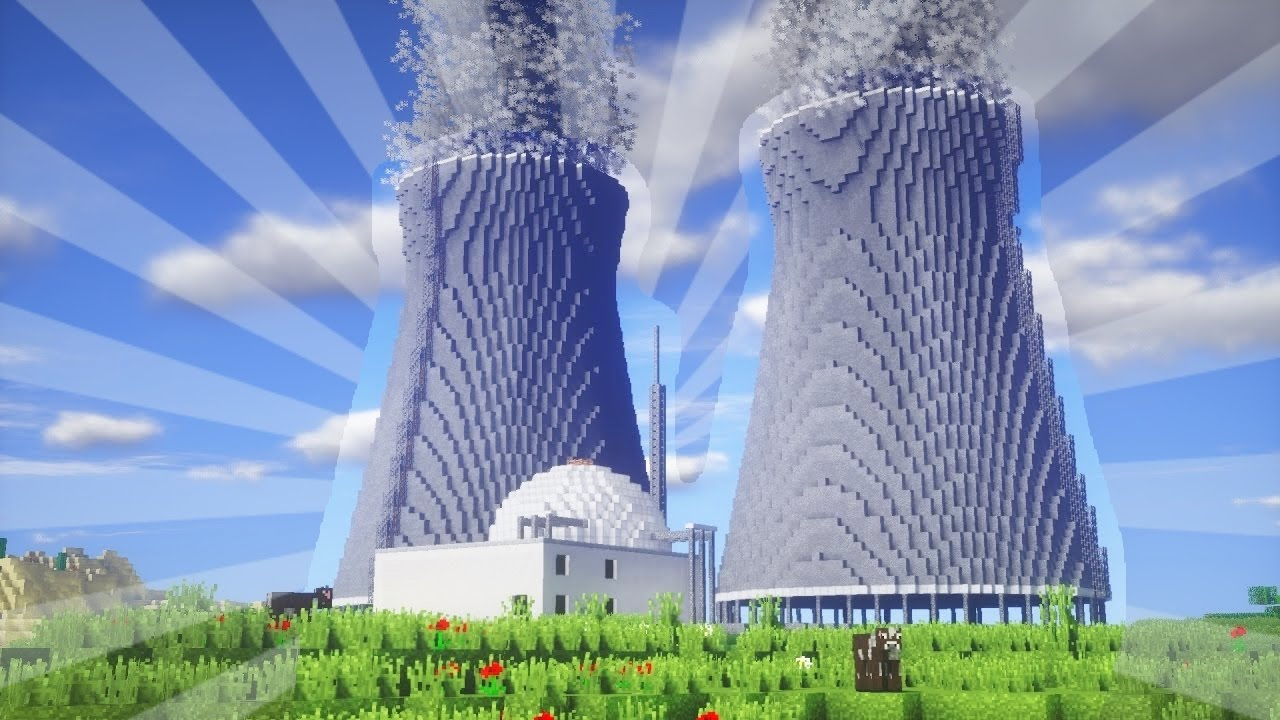 How to build a power plant in minecraft creative building youtube publicscrutiny