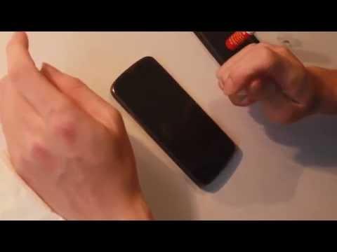 Cách phủ keo nano chống xước cho điện thoại màn hình cảm ứng