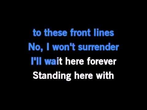 Miley Cyrus - My Heart Beats For Love (Karaoke/Instrumental) with lyrics