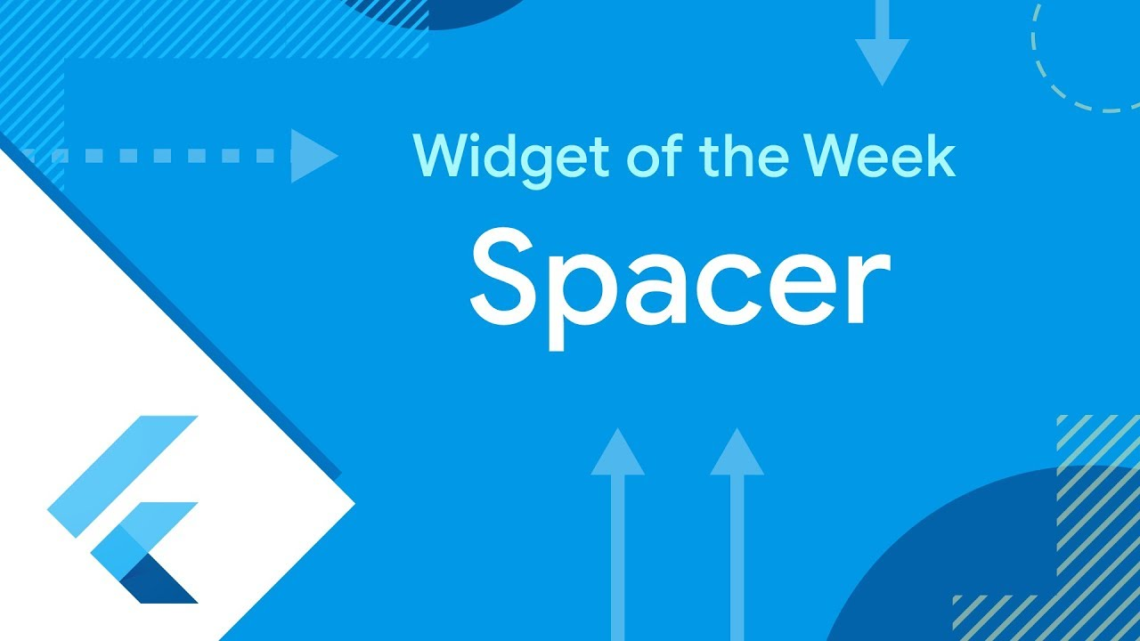 Spacer Flutter Widget of the Week