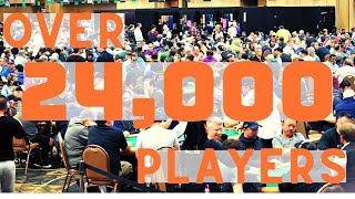 2019 WSOP Big 50: Officially the BIGGEST poker tournament in HISTORY