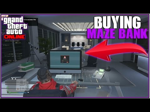 GTA 5 Online: *NEW* BUYING THE $6,500,000 MAZE BANK TOWER! *CEO Building* | (Finance and Felony DLC)