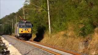 **Vonat alatt. Ritka felvételek! **Under Train (Hungary)**