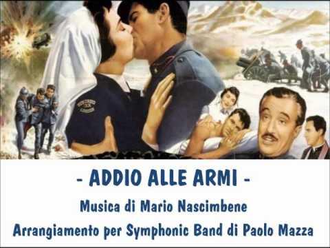ADDIO ALLE ARMI - arr. Paolo Mazza