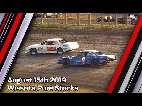 August 15th 2019, RRCS Wissota Pure Stock Heat